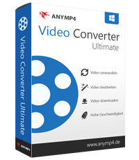 AnyMP4 Video Converter Ultimate Rabatt