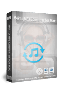 M4P to MP3 Converter for Mac 37,5% sparen