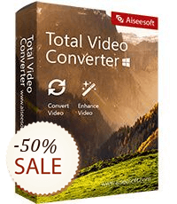 Aiseesoft Total Video Converter Discount Coupon
