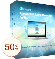 Apowersoft Audiorekorder für Mac Discount Coupon