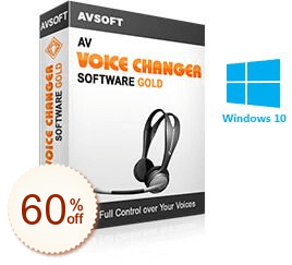 AV Voice Changer Software Gold Discount Coupon