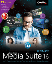CyberLink Media Suite Rabatt