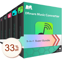 DRmare 5-in-1 Super Bundle Discount Coupon