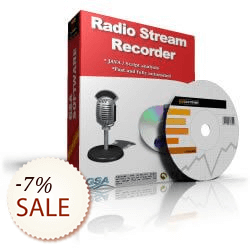 GSA Radio Stream Recorder Discount Coupon