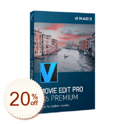MAGIX Movie Edit Pro Premium Discount Coupon