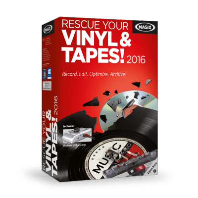 MAGIX Rescue Your Vinyl & Tapes Discount Coupon