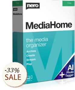 Nero MediaHome unlimited Discount Coupon