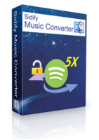 Sidify Music Converter für Spotify Shopping & Trial