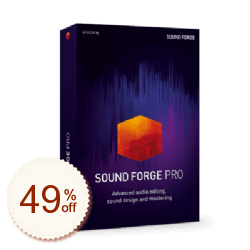 SOUND FORGE Pro Discount Coupon