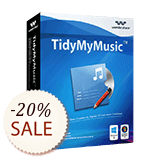 Wondershare TidyMyMusic Shopping & Trial