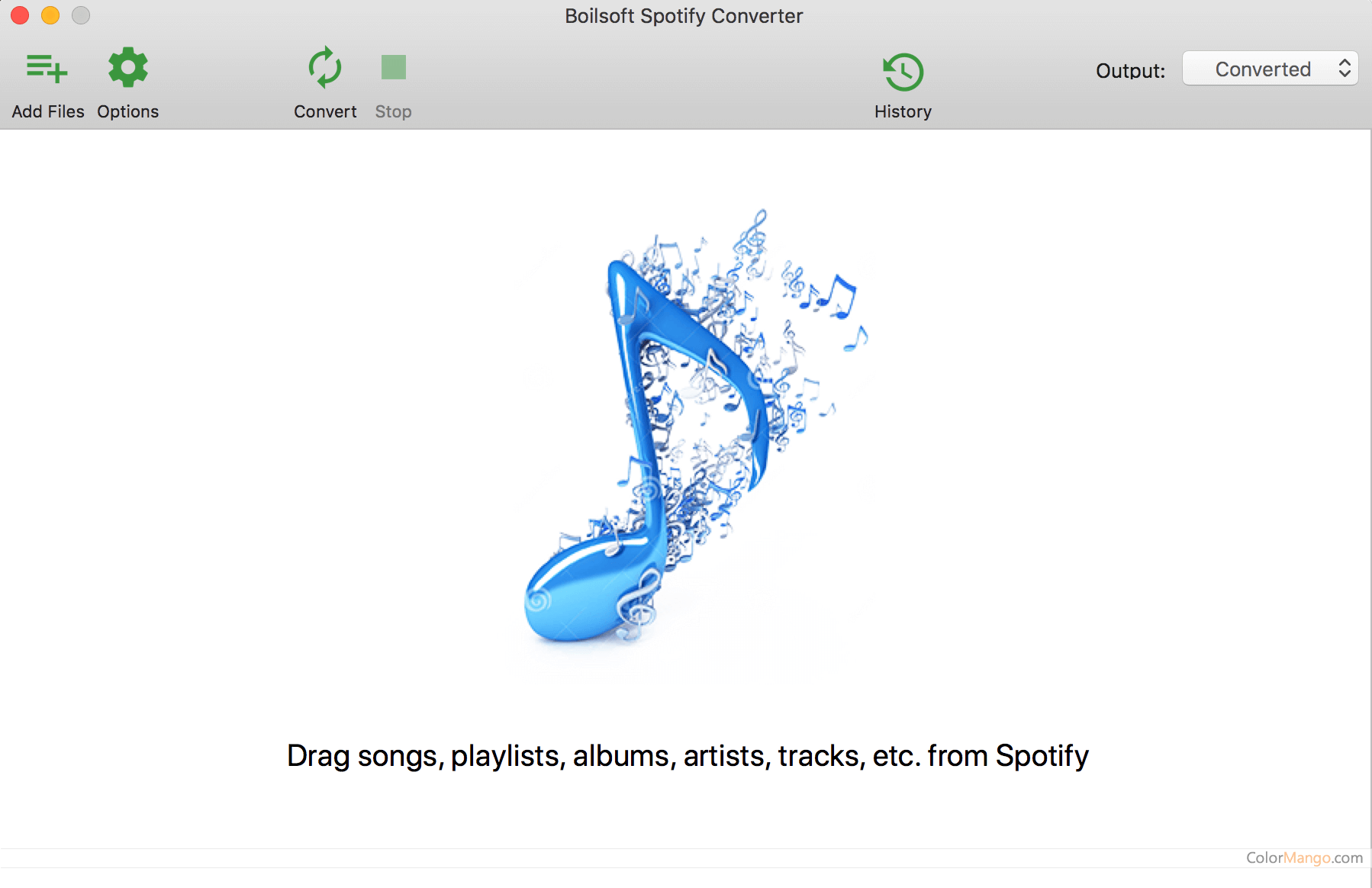 Boilsoft Spotify Music Converter Screenshot