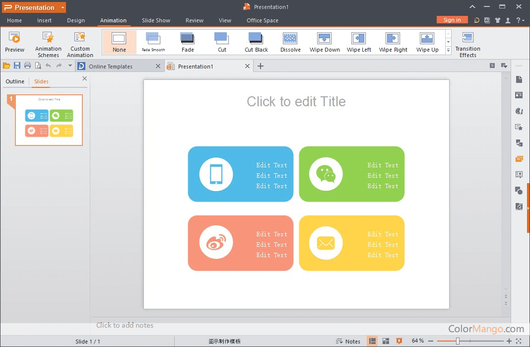 WPS Office Bildschirmfoto