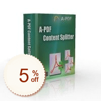 A-PDF Content Splitter Up to 50% OFF Volume Discount