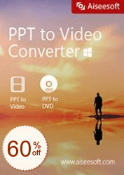 Aiseesoft PPT to Video Converter Discount Coupon