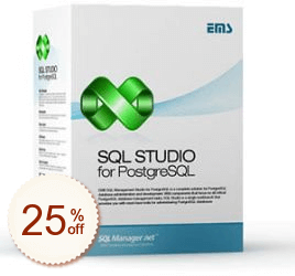 EMS SQL Management Studio for PostgreSQL Discount Coupon