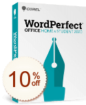WordPerfect Office Home & Student Discount Coupon