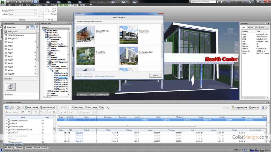 Autodesk Navisworks Screenshot