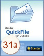 Standss QuickFile for Outlook Discount Coupon