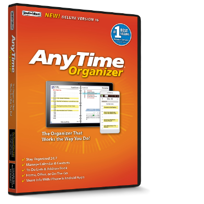 AnyTime Organizer Deluxe Discount Coupon