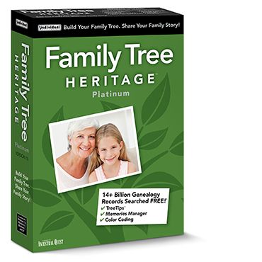 Family Tree Heritage Platinum Shopping & Trial