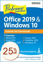 Professor Teaches Office 2019 & Windows 10 Discount Coupon