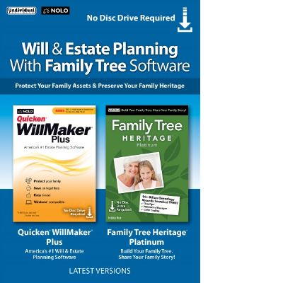 Will & Estate Planning with Family Tree Bundle Shopping & Trial