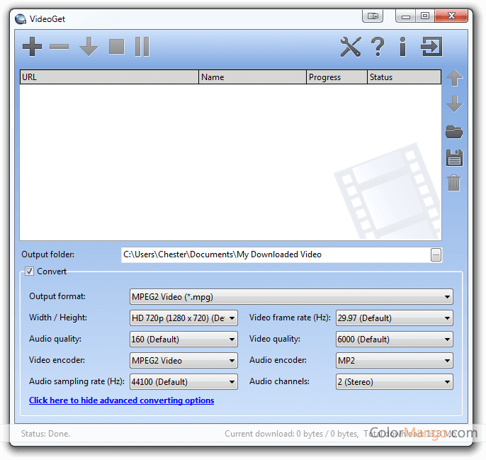 VideoGet Screenshot