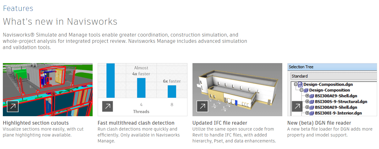 Autodesk Navisworks Feature