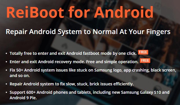 Tenorshare ReiBoot for Android Pro-Funktion