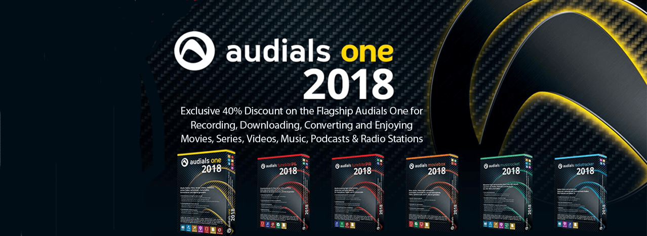 Save up to 60% Off Audials Hot Products!