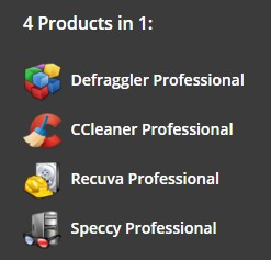 CCleaner Professional Plus 4 Products in 1