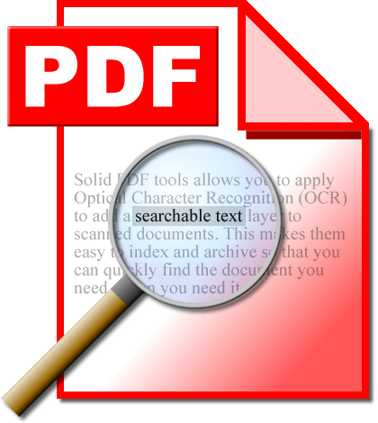 PDF tools with OCR function