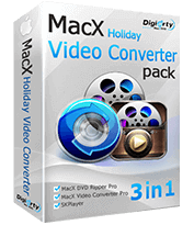 MacX Holiday Video Converter Pack Discount Coupon