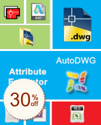 AutoDWG Attribute Extractor Discount Coupon