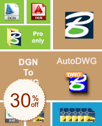 AutoDWG DGN to DWG Converter Discount Coupon