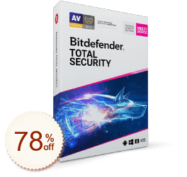 BitDefender Total Security sparen