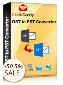 MailsDaddy OST To PST Converter Discount Coupon