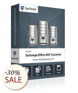 SysTools Exchange EDB to NSF Converter Discount Coupon