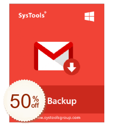 SysTools Gmail Backup Discount Coupon