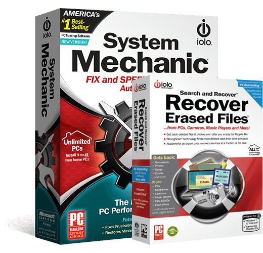 System Mechanic + Search and Recover Bundle
