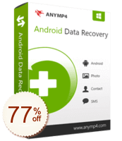 AnyMP4 Android Data Recovery Discount Coupon