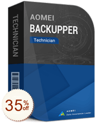 AOMEI Backupper Technician Discount Coupon