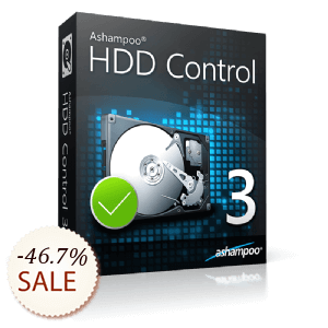 Ashampoo HDD Control Discount Coupon