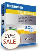 DataNumen SQL Recovery Discount Coupon