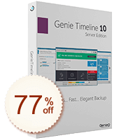 Genie Timeline Server Discount Coupon