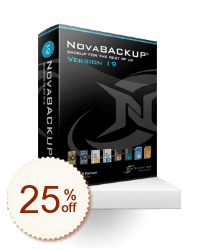 NovaBACKUP PC Discount Coupon