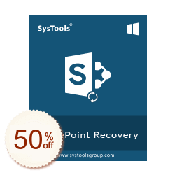 SysTools SharePoint Recovery Discount Coupon