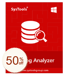 SysTools SQL Log Analyzer Discount Coupon