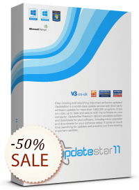 UpdateStar Premium Edition sparen
